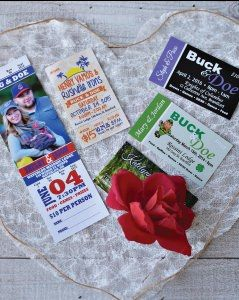 Buck & Doe Tickets